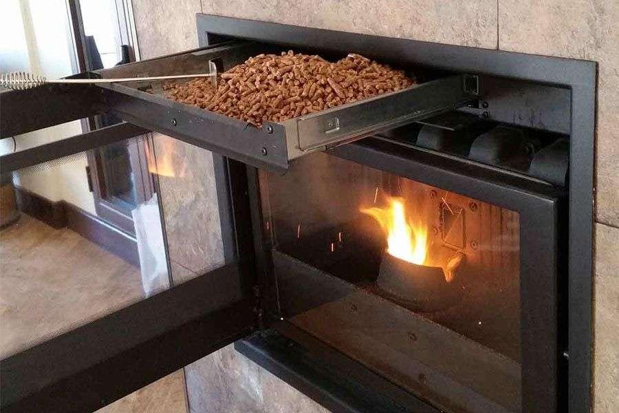 ¿Qué es una chimenea de pellet?