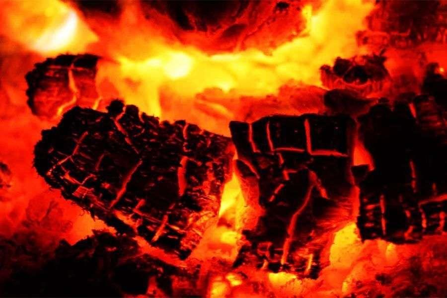 ¿Qué es la combustión en una chimenea?