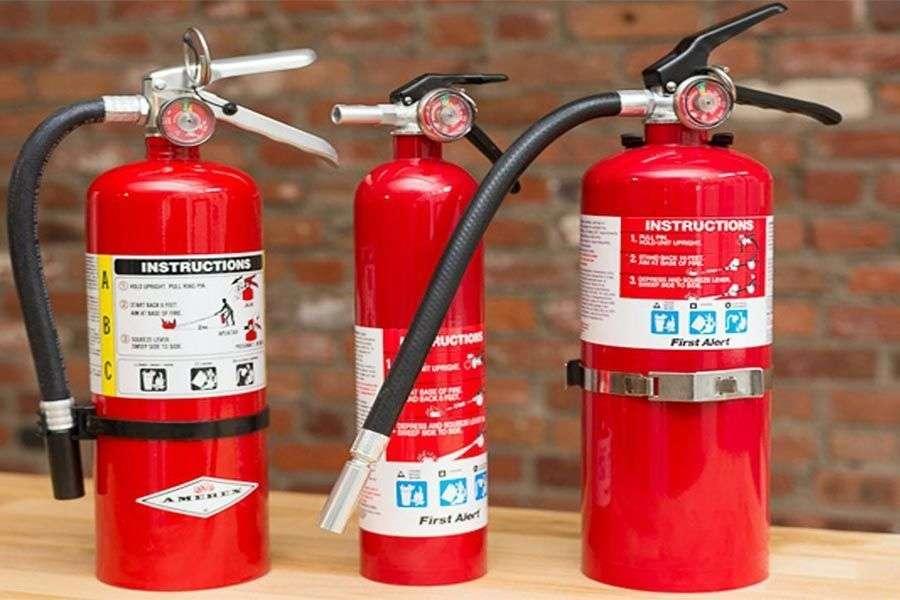 Tipos, usos y clasificación de extintores de incendio