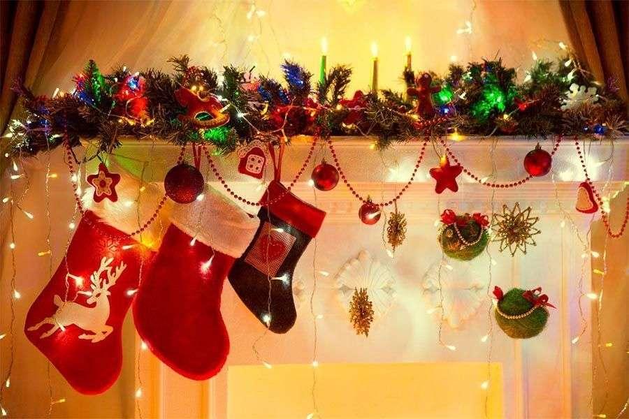 Cómo decorar tu chimenea en Navidad
